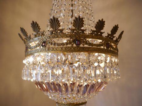 Kronleuchter Orientalisch ~ Sac a perle wunderschöner hoher messing kronleuchter orientalisch