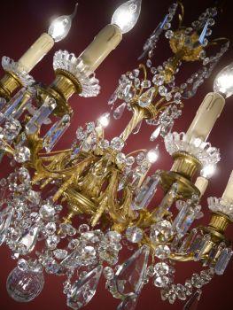 Kronleuchter Antik Kristall Lüster Alte Lampen Berlin