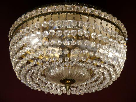 Plafoniere Messing : Sac a perle schöne prächtige messing plafoniere Ø 25 cm deckenlampe